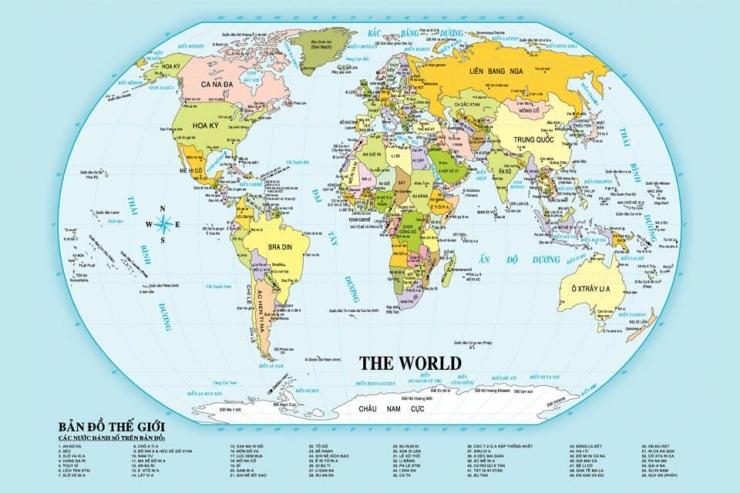 Hiện nay có bao nhiêu quốc gia trên thế giới?