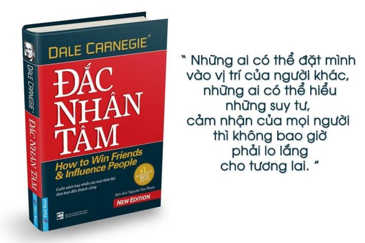 Sách hay Đắc Nhân Tâm - Dale Carnegie